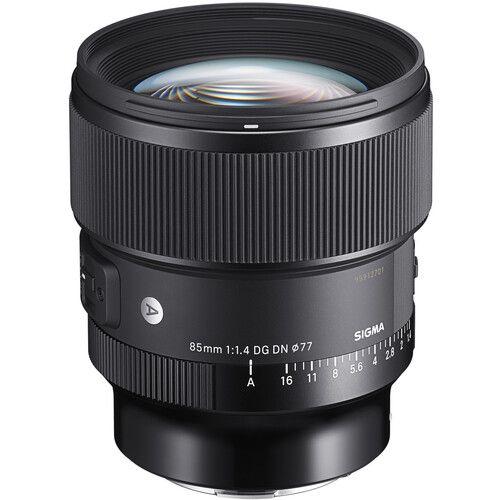 Lente Sigma 85mm f/1.4 DG DN Art para Câmeras Sony E