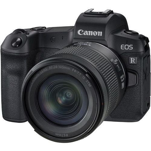 Câmera Canon EOS R Mirrorless Kit com Lente Canon RF 24-105mm f/4-7.1 IS STM
