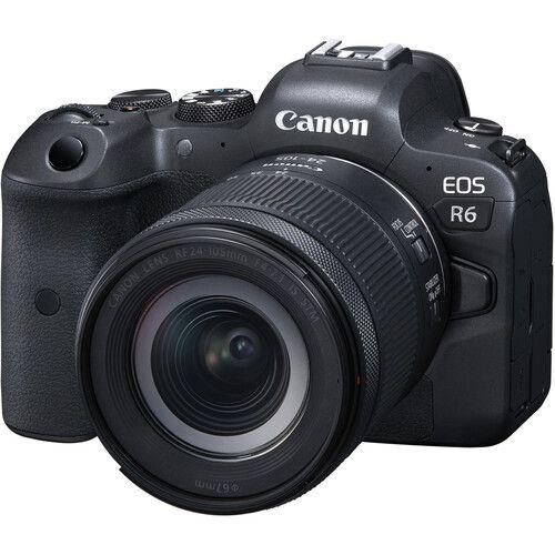 Câmera Canon EOS R6 Mirrorless Kit com Lente Canon RF 24-105mm f/4-7.1 IS STM