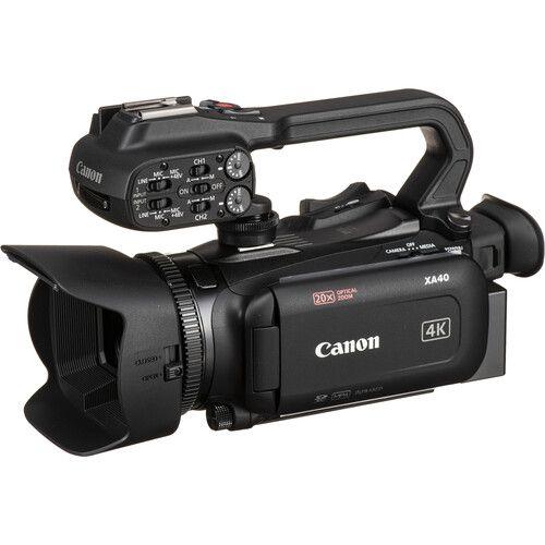 Câmera Canon XA40 de Vídeo Profissional UHD 4K