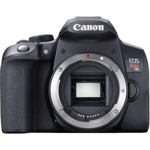 Câmera Canon EOS Rebel T8i Kit com Lente EF-S 18-135mm f/3.5-5.6 IS STM