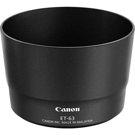 Parasol Canon ET-63 para Lente Canon EF-S 55-250mm f/4-5.6 IS STM