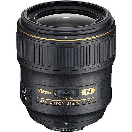 Lente Nikon AF-S NIKKOR 35mm f/1.4G