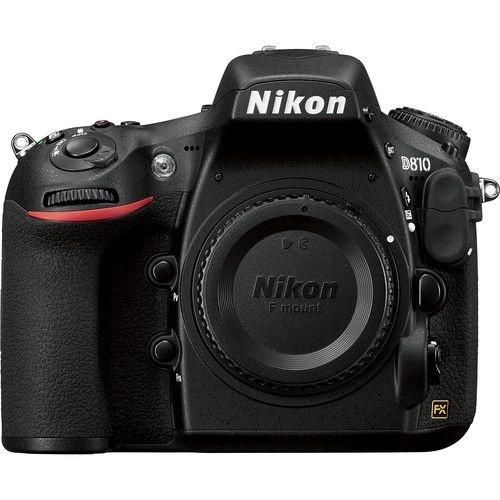 Câmera Nikon D810 Apenas o Corpo