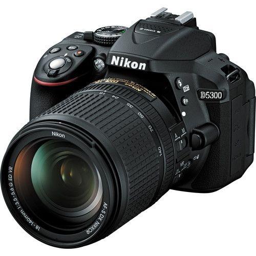 Câmera Nikon D5300 Kit com Lente Nikon AF-S 18-140mm f/3.5-5.6G VR