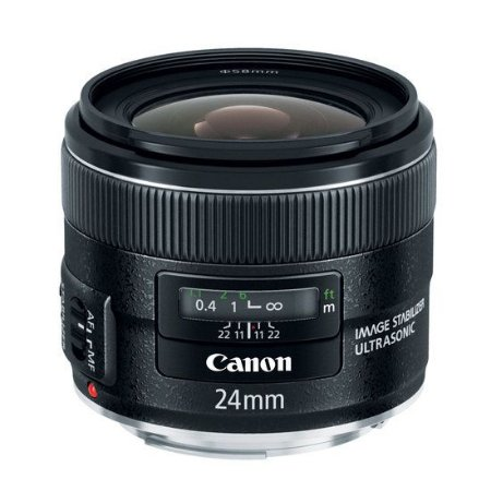 Lente Canon EF 24mm f/2.8 IS USM
