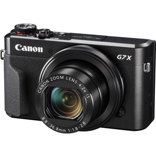 Câmera Canon PowerShot G7 X Mark II (Preta) 20.1 MegaPixels DIGIC 7 Image Processor