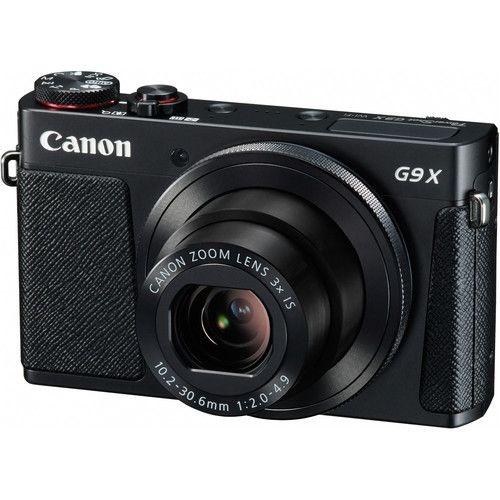 Câmera Canon PowerShot G9 X (Preta) 20.2 MegaPixels, Zoom Ótico de 3x, Vídeo Full HD