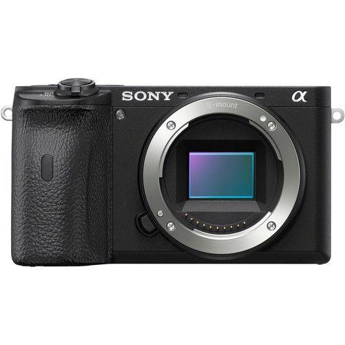 Câmera Sony Alpha a6600 Mirrorless Kit com Lente Sony E PZ 18-105mm f/4 G OSS