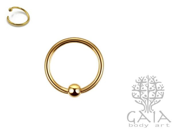 Captive Fixed Ball Dourado