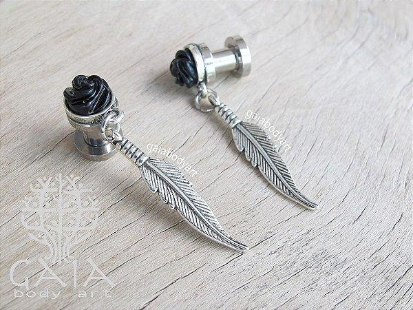Alargador Aço Feather