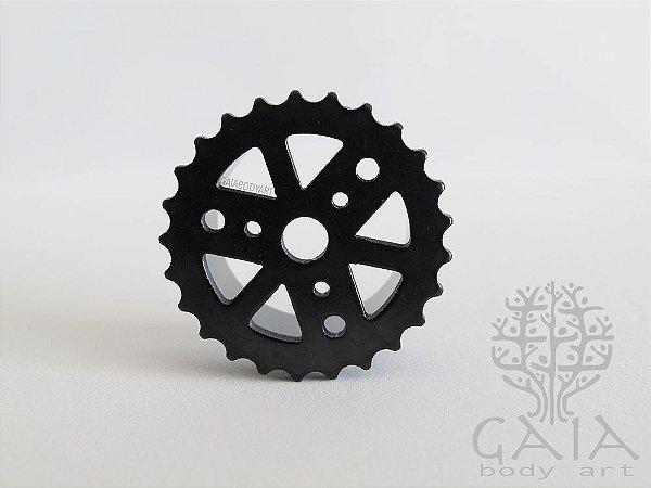 Alargador Aço Preto Mechanical