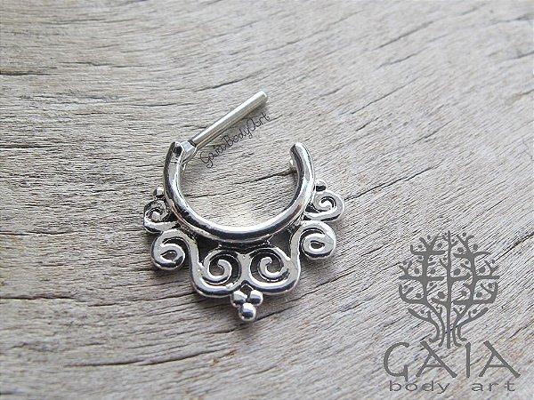 Piercing Clicker Septo Dhara Prateado