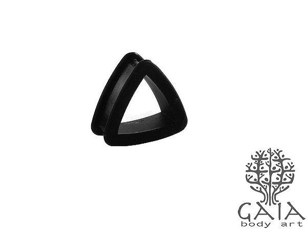 Alargador Silicone Triângulo Preto