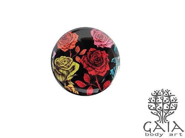 Alargador Rosas Coloridas
