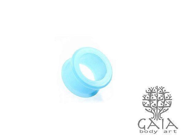 Alargador Silicone Azul Claro