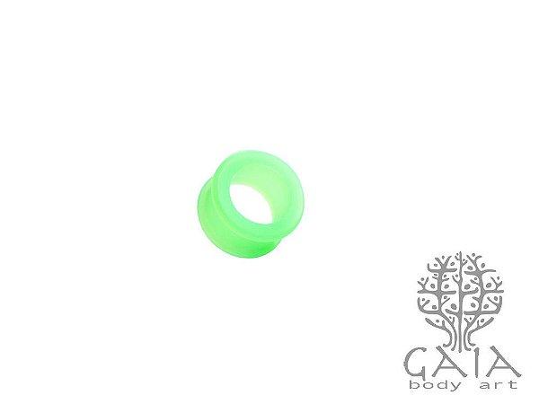 Alargador Silicone Verde Flúor
