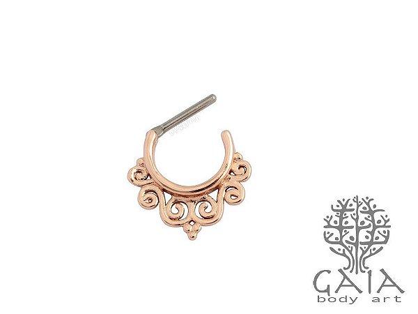 Clicker Septo Anika Ouro Rosa
