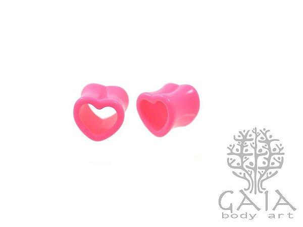 Alargador Coração Pink