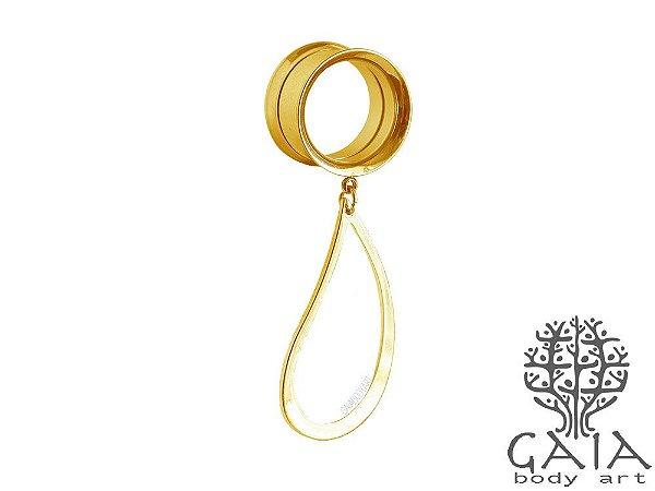 Alargador Oblique Dourado