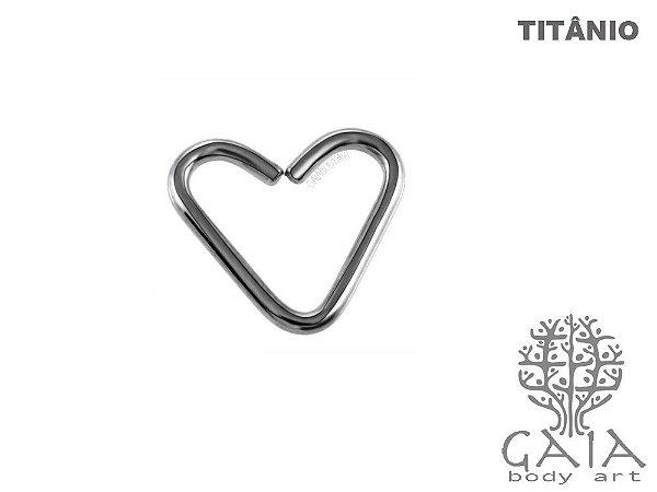 Clip Coração Titânio