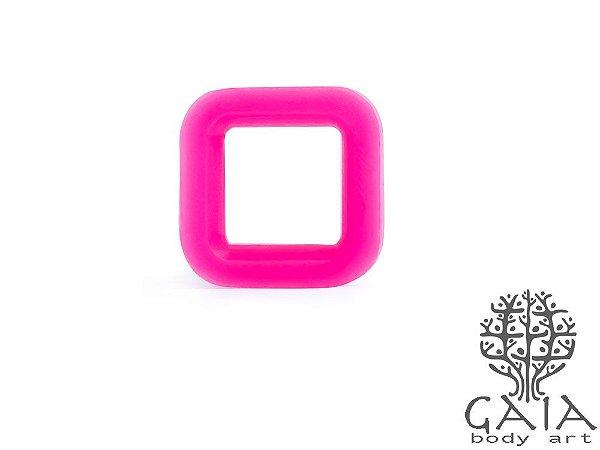 Alargador Silicone Quadrado Pink