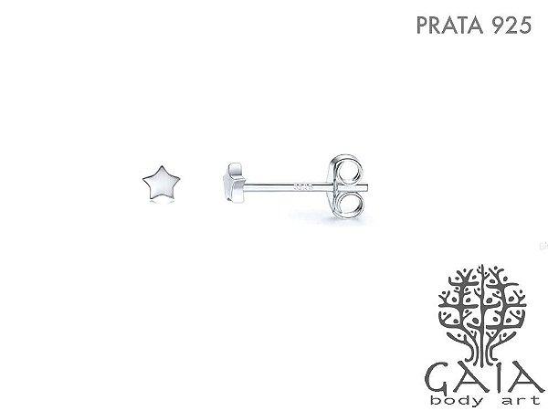 Brincos Prata 925 Estrelinha [o par]