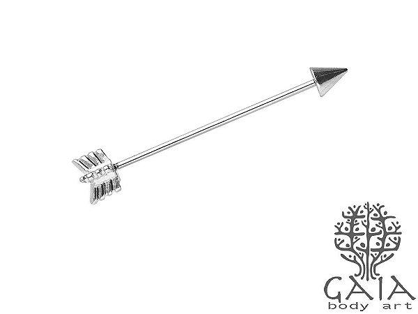 Barbell Transversal Industrial Flecha
