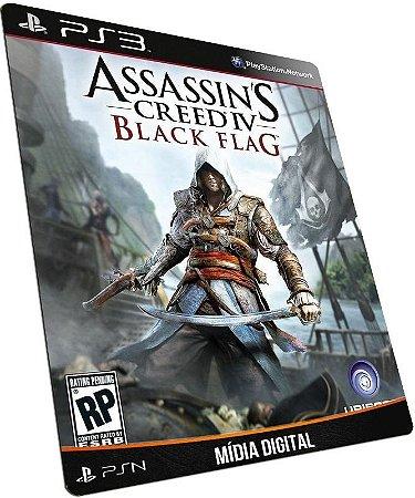 Assassins Creed IV Black Flag PS3 PSN PSN MÍDIA DIGITAL