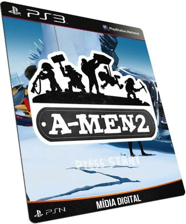 A Men 2 PS3 PSN MÍDIA DIGITAL