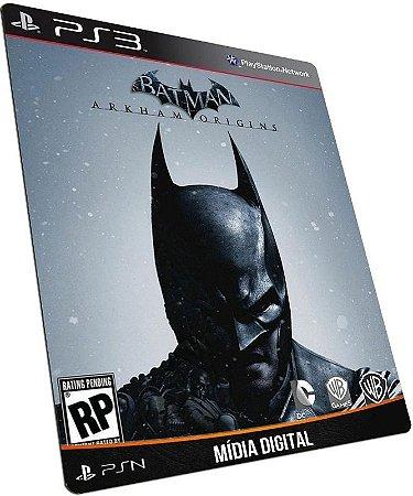 Batman Arkham Origins PS3 PSN MÍDIA DIGITAL