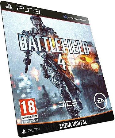 Battlefield 4 - BF4 PS3 / PSN - MÍDIA DIGITAL