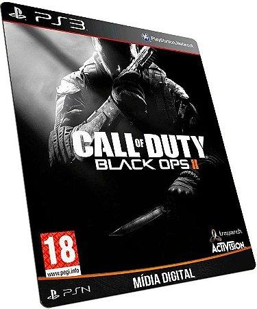 Call of Duty Black Ops 2 PS3 /  PSN - MÍDIA DIGITAL