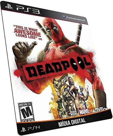 Deadpool PS3 PSN MÍDIA DIGITAL