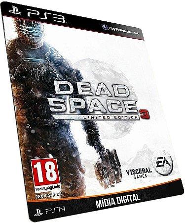 Dead Space 3 PS3 PSN MÍDIA DIGITAL