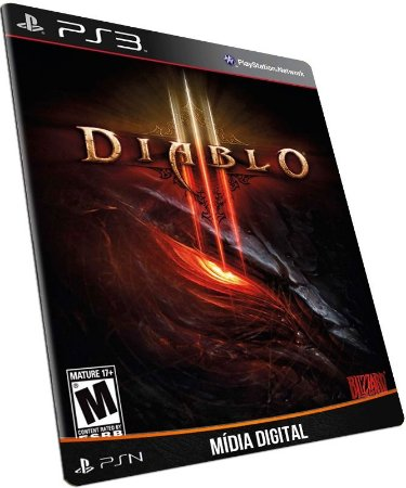 Diablo 3 PS3 PSN MÍDIA DIGITAL