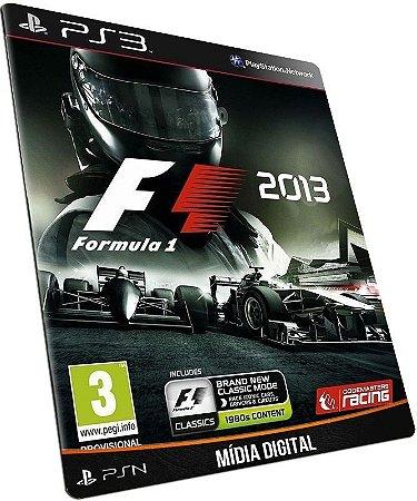 F1 2013 PS3 MÍDIA DIGITAL