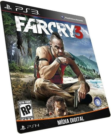 Farcry 3 Far Cry III PS3 PSN MÍDIA DIGITAL