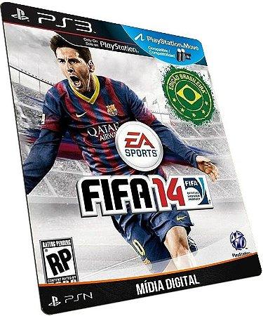 Fifa 14 PT BR PS3 PSN MÍDIA DIGITAL