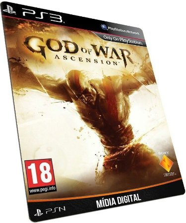 God of War Ascension PS3 PSN MÍDIA DIGITAL