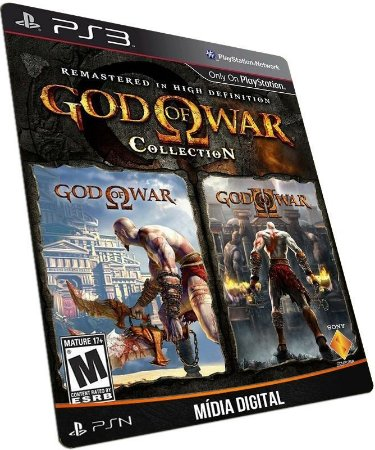 God of War Collection PS3 PSN MÍDIA DIGITAL