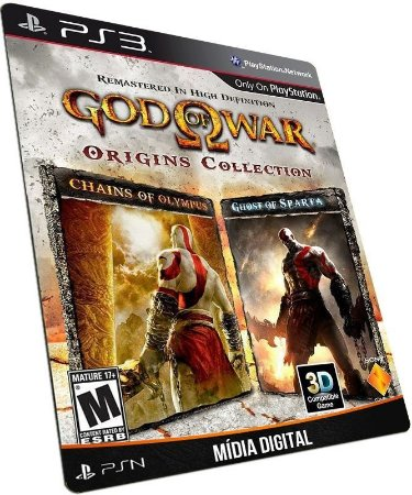 God of War Origins Collection PS3 PSN MÍDIA DIGITAL