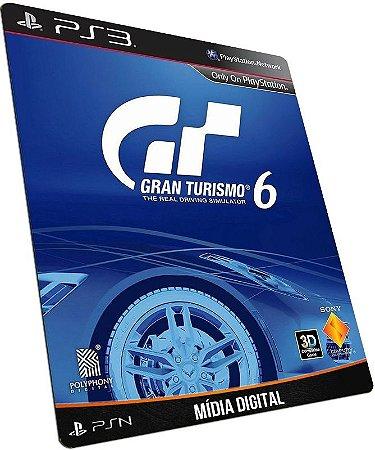 Gran Turismo 6 PS3 PSN MÍDIA DIGITAL