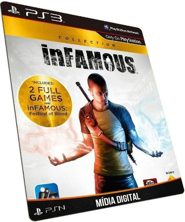 inFAMOUS Collection PS3 / PSN - MÍDIA DIGITAL