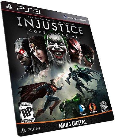Injustice Gods Among Us PS3 / PSN - MÍDIA DIGITAL