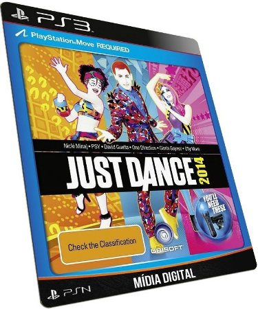 Just Dance 2014 PS3 PSN MÍDIA DIGITAL