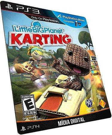 Little Big Planet Karting PS3 PSN MÍDIA DIGITAL