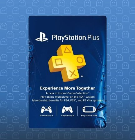 Cartão Psn Playstation Plus 3 Meses Americano