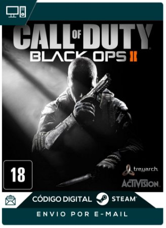 Call Of Duty Black Ops 2 Steam PC CHAVE DIGITAL