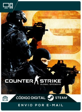 Counter Strike Global Offensive - CS GO - STEAM - Chave Digital